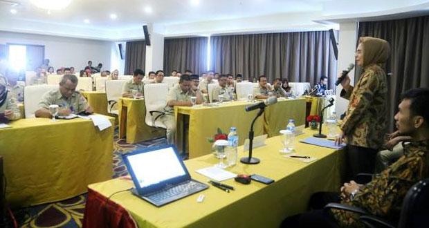 Walikota Kotamobagu Buka Kegiatan Pelatihan Manajemen Pembangunan Modern