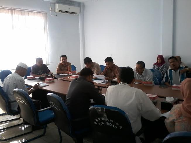 Tim Banggar Dekot dan TAPD Kotamobagu Bahas Rekomendasi Pemprov Soal APBD 2016