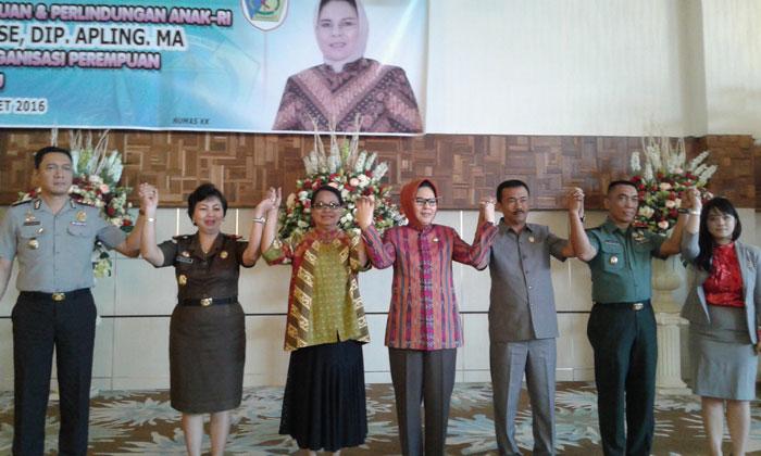 Lindungi Kaum Perempuan Dari Traviking,Menteri Pemberdayaan Perempuan & Perlindungan Anak-RI Siap Bentuk Satgas