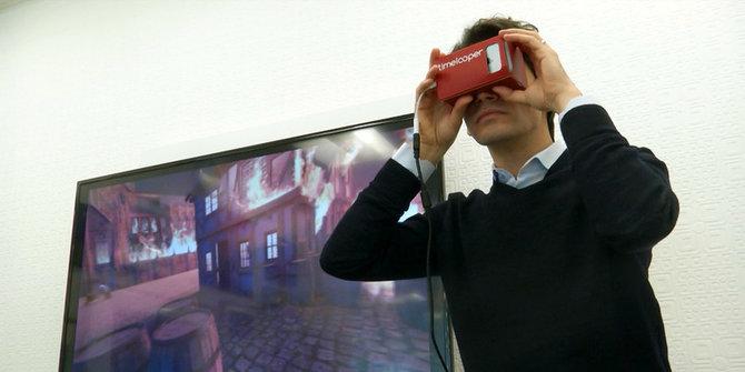 Timelooper, aplikasi virtual reality yang bisa jelajahi masa lalu