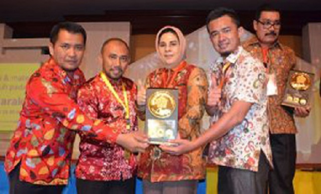 Kotamobagu Raih Anugerah Dana Rakca Tahun 2016