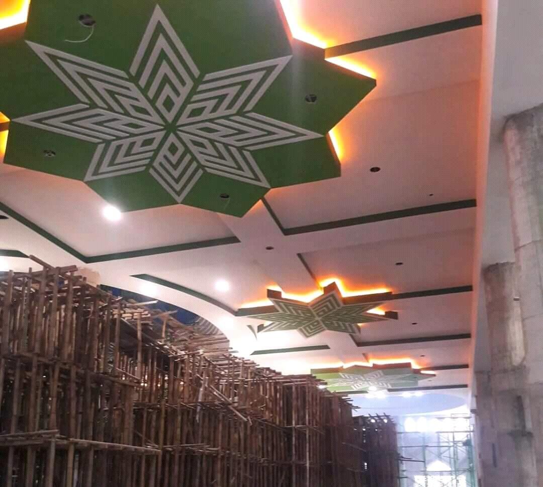 181 Light Lamp Terangi Masjid Baitul Makmur