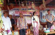 Sambangi Werdhi  Agung Bupati Bolmong  Lepas Peserta Pawai Ogoh Ogoh