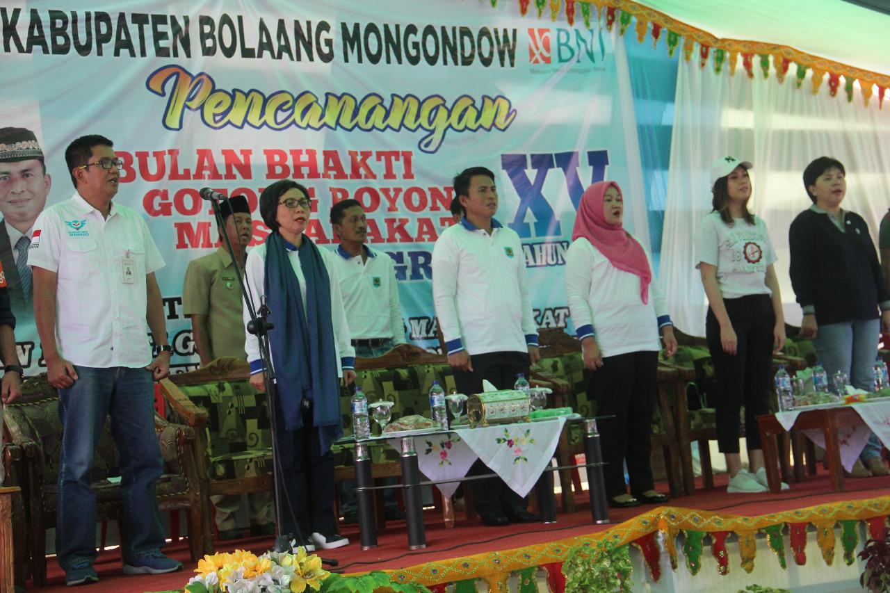 Pemkab Bolmong Gelar Pencanangan BBGRM ke-XV Tingkat Kabupaten