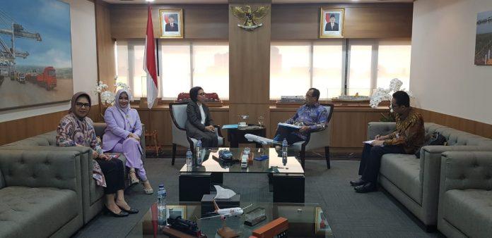 Bahas Percepatan Infratruktur Bandara, Pelabuhan, dan Bus Sekolah Bupati Bolmong Temui Menteri Perhubungan