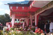 Peringati Hut RI KE - 73, Pemkot Kotamobagu Gelar Upacara Bendera