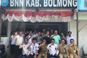 Berantas Narkoba BNN Bolmong Gelar Kegiatan Press Release