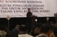 BKPP Pemkab Bolmong Ikuti Rakoornas Sinergitas Penegakan Hukum PNS