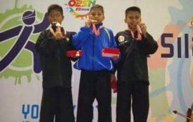 Ikuti O2SN di Jogja, Atlet Silat Asal Kotamobagu Raih Medali Perunggu
