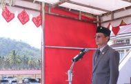 Wakil Bupati Bolmong Pimpin Upacara HUT Provinsi Sulut