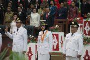 Bupati Bolmong Hadiri Pelantikan 5 Kepala Daerah