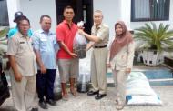 Pemkot Kotamobagu Salurkan Bantuan Benih Ikan