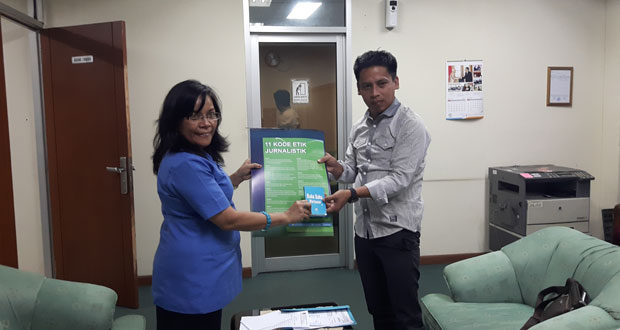 Humas Bolmong Sambangi Dewan PERS Indonesia