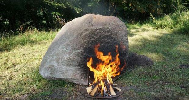 Keren! Batu Ini Pancarkan Wifi dengan Cara Dibakar