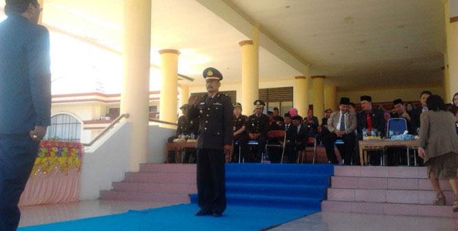 Memperingati Hari Pahlawan 10 November Pemkab Bolmong Gelar Upacara Bendera