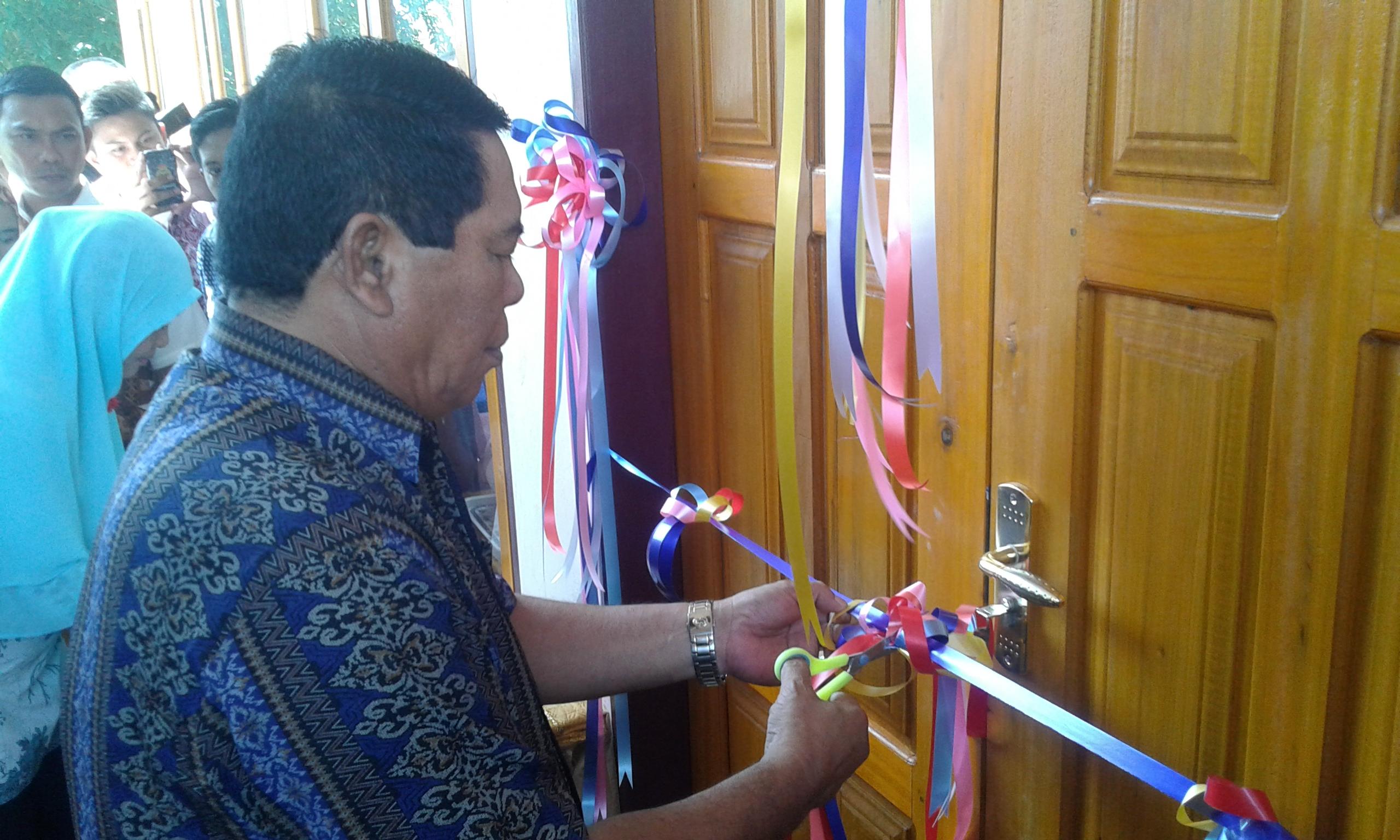 Bupati Bolmong Lakukan Peresmian Kantor Lurah Inobonto, Serta Gelar Dialog Bersama Masyarakat