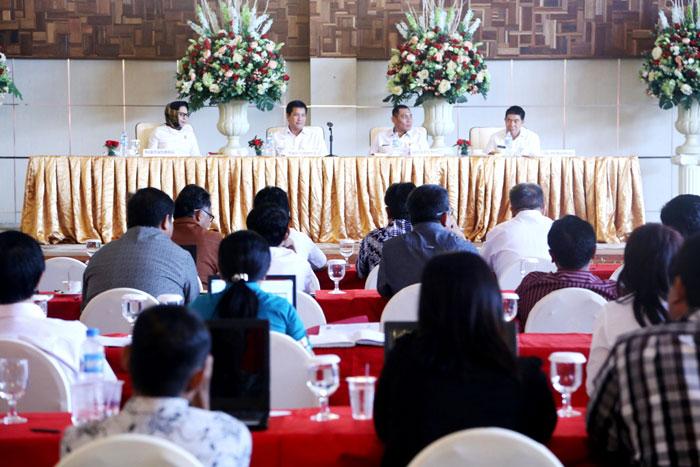 Walikota Kotamobagu Dampingi Wagub Tutup Kegiatan Validasi dan Verifikasi P3D SMA/SMK Se-Sulut