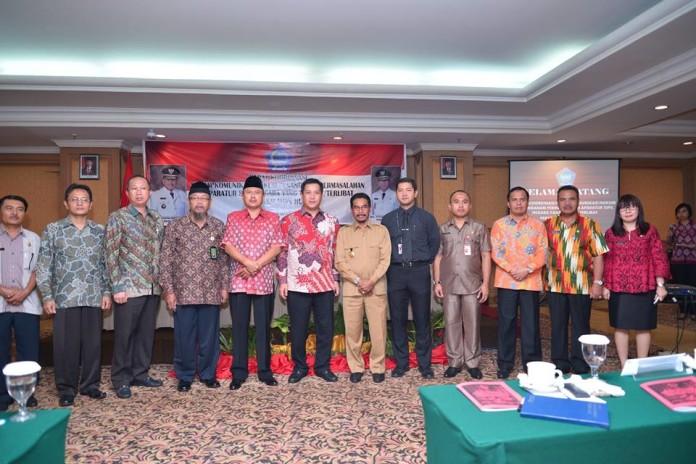Wakil Bupati Bolmong Ikuti  Rakor Forum Komunikasi Hukum penanganan ASN terkait masalah hukum