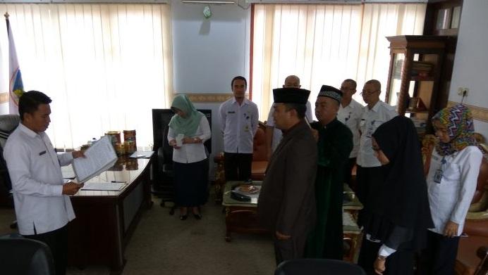 Claudy Mokodongan Resmi Jabat Kabid Bina Marga Kotamobagu