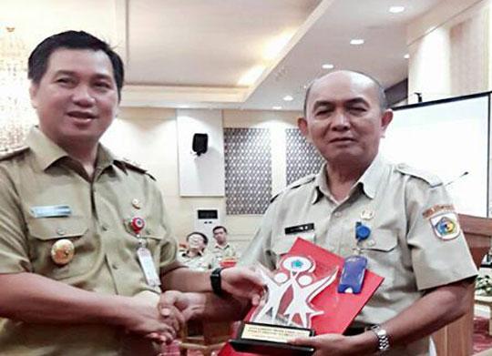 Pemkot Sabet Juara Umum Kepegawaian Award