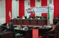 Pertanggungjawaban APBD 2017 dan RPJPD 2007 – 2025 di Paripurnakan DPRD Kotamobagu