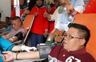 Peringati Hut Darma Wanita Wakil Walikota Kotamobagu Lakukan Donor Darah