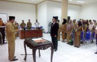 Tuuk Resmi Lantik dr.Erman Sebagai Dirut RSUD Datoe Binangkang