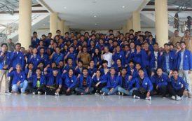 Lakukan Pengabdian Pada Masyarakat Mahasiswa Politeknik Manado Sambangi Pemkab Bolmong