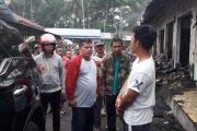 Sambangi Pasar Poyowa,Nayodo Cek Langsung Lokasi Kebakaran