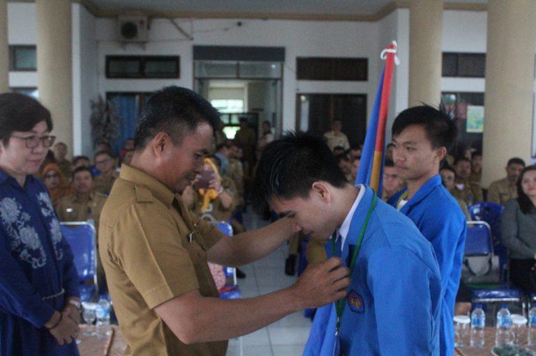 Sekda Sambut Mahasiswa Unima KKN di Bolaang Mongondow
