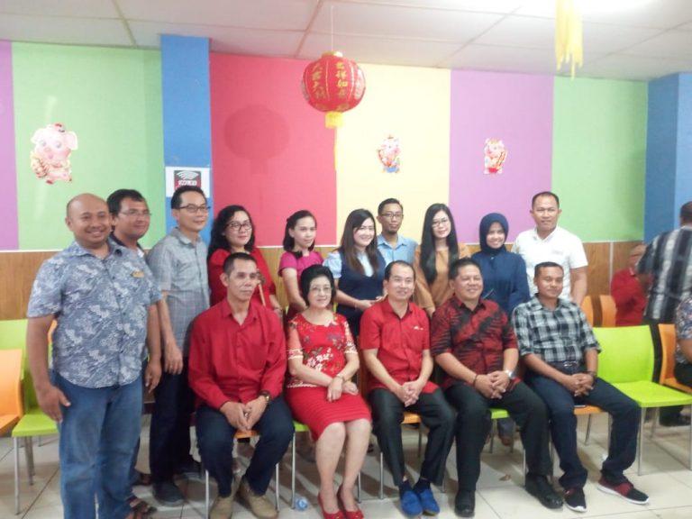 Turut Rayakan Imlek Wakil Walikota Kotamobagu Bersilaturahmi Dengan Warga Tiong Hoa