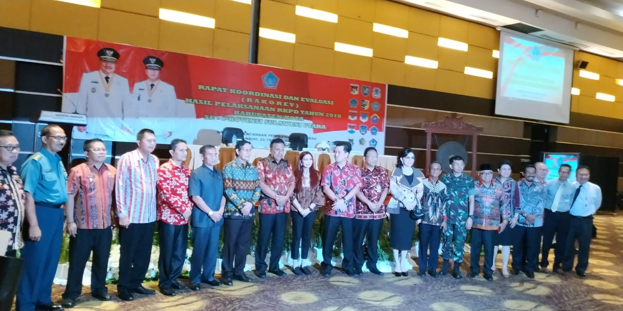 Wakil Bupati Bolmong  Hadiri Rakor RKPD Tahun 2018