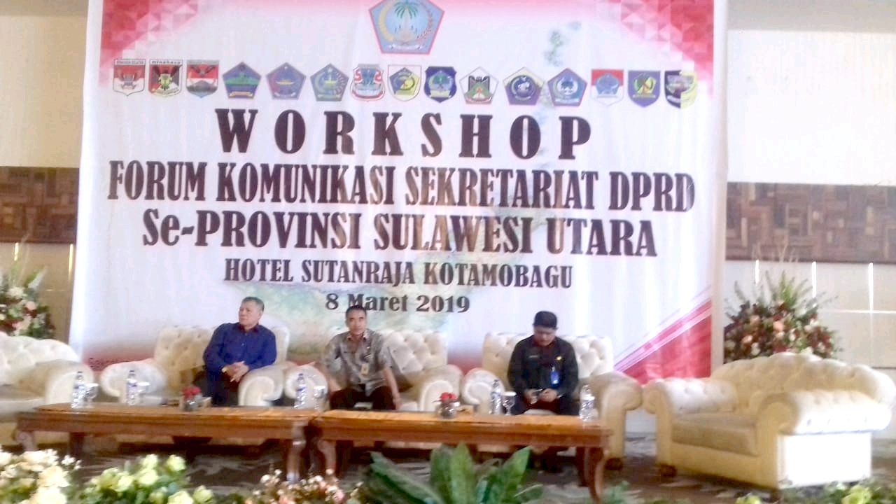 Sekot Kotamobagu Buka Workshop Forum Komunikasi Sekwan Se Sulut