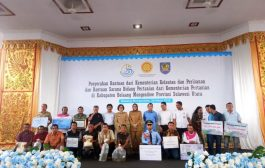 Petani dan Nelayan Bolmong  Terima Bantuan  Dari Kementrian