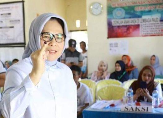 Salurkan Hak Pilihnya Tatong Berharap Pemilu Kotamobagu Aman dan Sukses