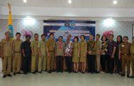 Sambangi Nusa Utara Diskominfo Bolmong Ikuti Kegiatan Fasilitasi Peningkatan Layanan Keamanan Daerah Perbatasan