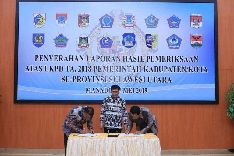 Ketua DPRD Bolmut Aprsiasi Pemkab Kembali Raih Predikat WTP