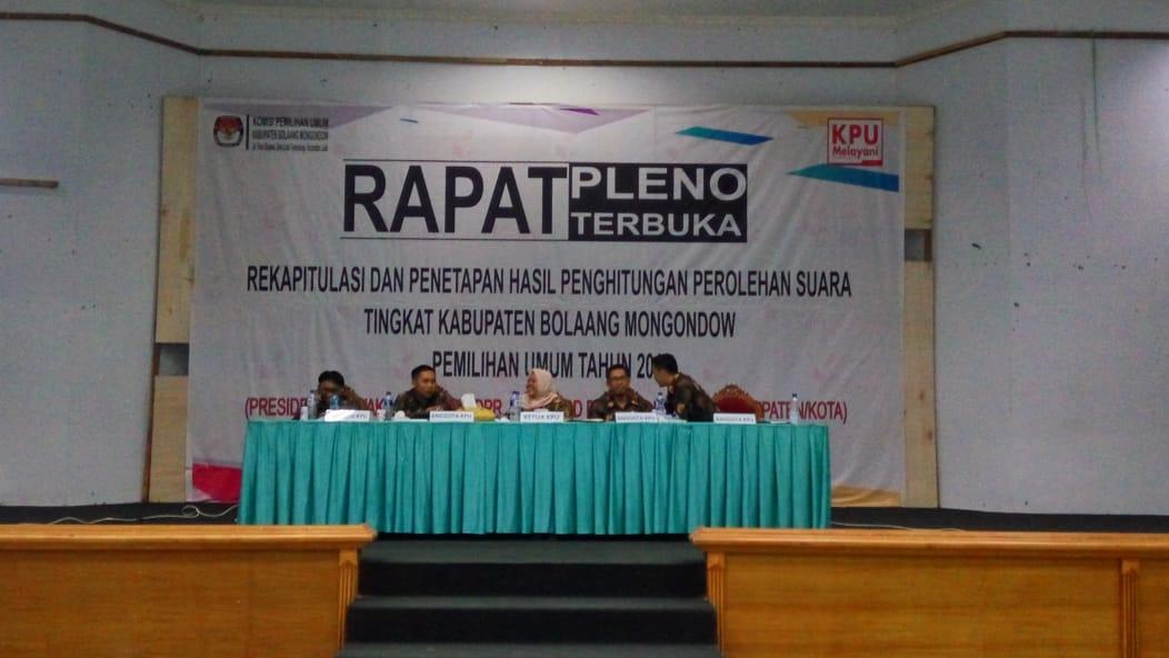 Proses Pemilu Berjalan Lancar, Sejumlah Saksi Partai Tingkat Kabupaten Bolmong Ucapakan Terima Kasih