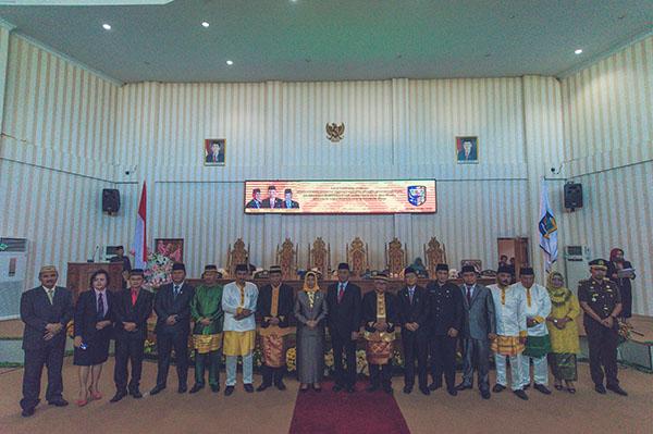 DPRD Gelar Paripurna Peringati Hut Kabupaten Bolmut