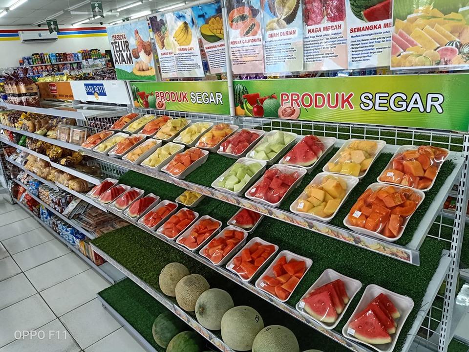 Buah Lokal Kotamobagu Laris Terjual di Gerai Indomaret