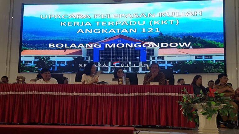 Sebagai Motivasi, Bupati Bolmong Janji Bakal Berikan Hadiah Pada Mahasiswa KKT Unsrat Manado