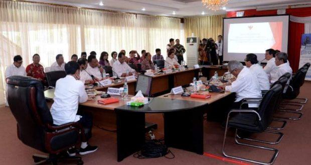 Bupati Bolmong Rapat Bersama Presiden RI