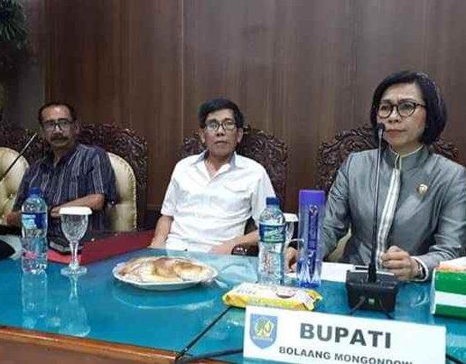 Bupati Bolmong Terima Kunjugan Civitas Unsrat Manado