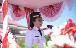 Bupati Bolmong Pimpin Upacara Kemerdekaan RI Ke -74