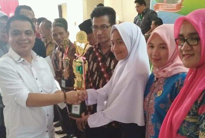 Siswi MTS Kotamobagu Harumkan Nama Daerah Pada Kompetisi Sains Madrasah