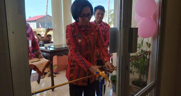 Bupati Bolmong Resmikan Kantor Baru Dinas Perikanan dan Kelautan