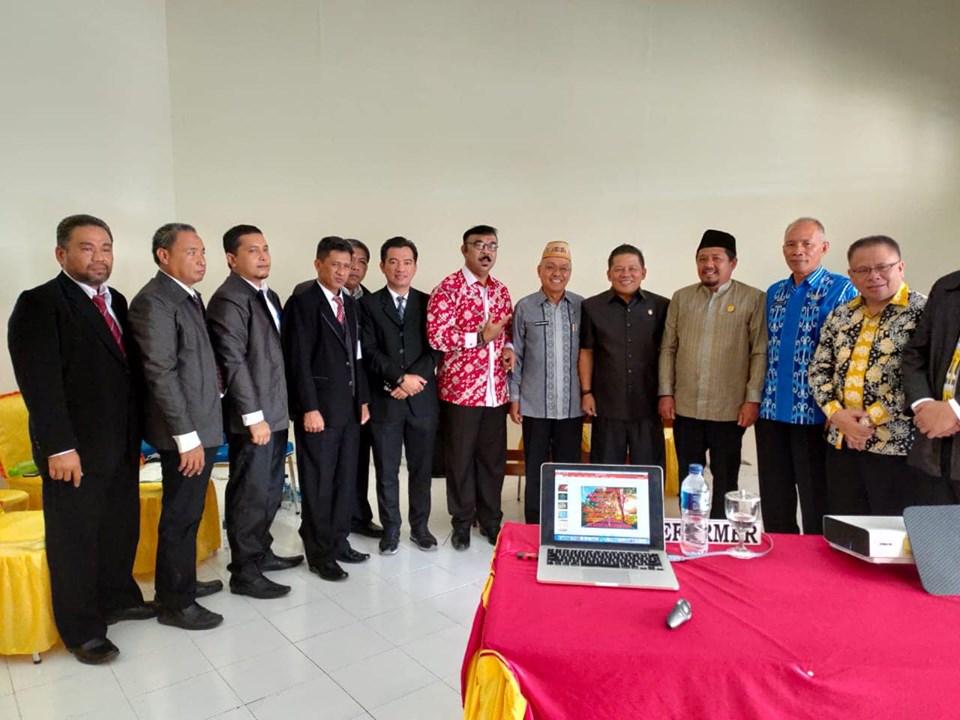 Sambangi Gorontalo Nayodo Jadi Mentor Kehormatan Diklat Pim III