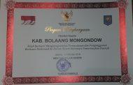 Pemkab Bolmong Raih Penghargaan Dari Kemendagri