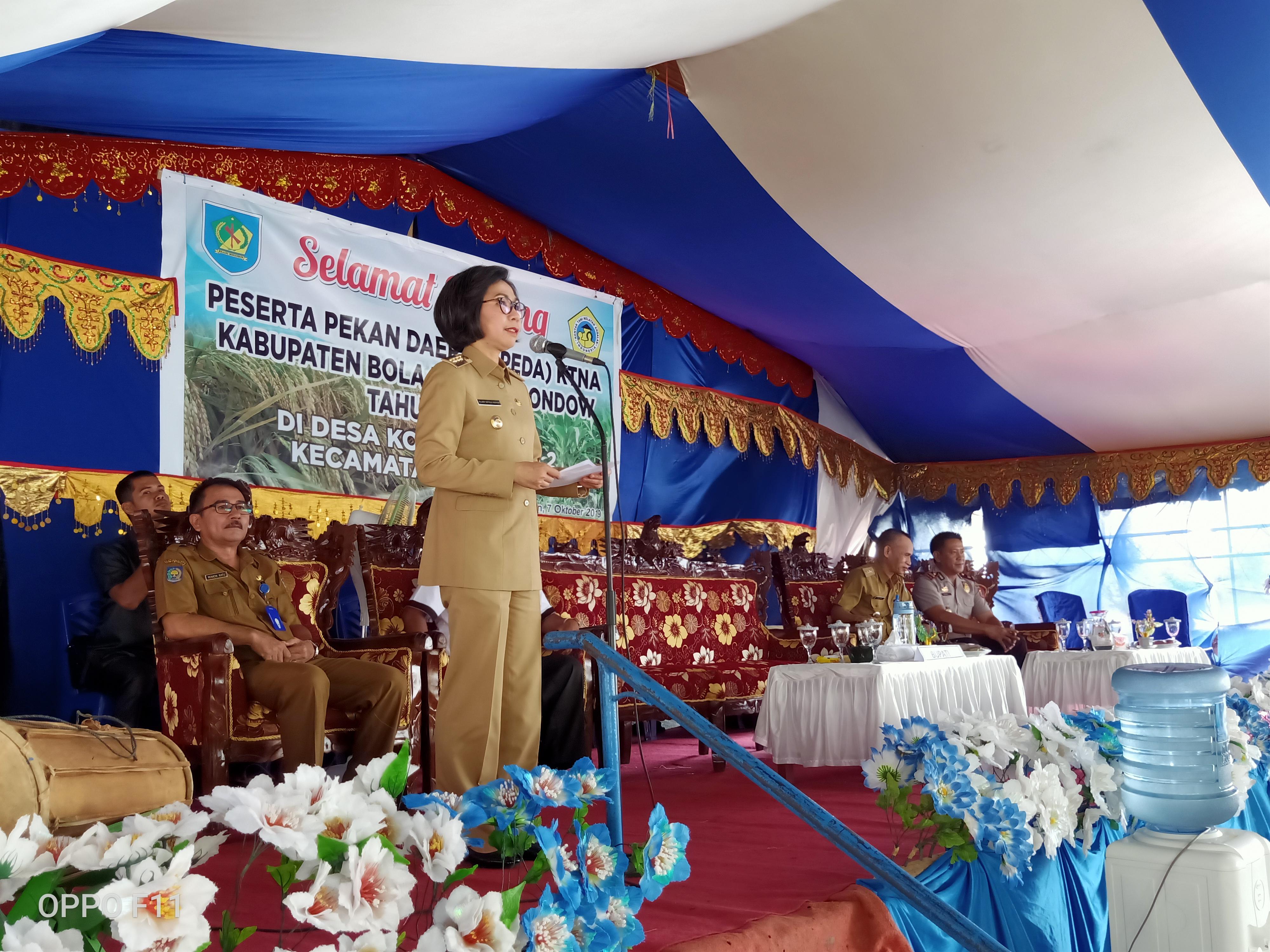 Pemkab Bolmong Hibahkan Lahan 15 Hektare Untuk Pembangunan Gudang Bulog