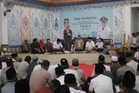 Peringati Satu Tahun Pemerintahan TBNK Pemkot Kotamobagu Gelar Dzikir dan Doa